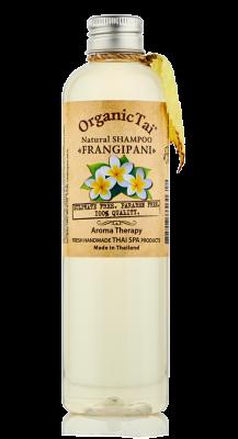 Шампунь безсульфатный с маслом франжипани ORGANIC TAI Natural Shampoo Frangipani 260 мл: фото