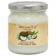 Чистое кокосовое масло холодного отжима для тела и волос OrganicTai, 200 мл